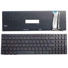 New Keyboard FOR ASUS GL552 GL552J GL552JX GL552V GL552VL GL552VW N552VW N552VX G771JM G771JW US laptop keyboard backlit