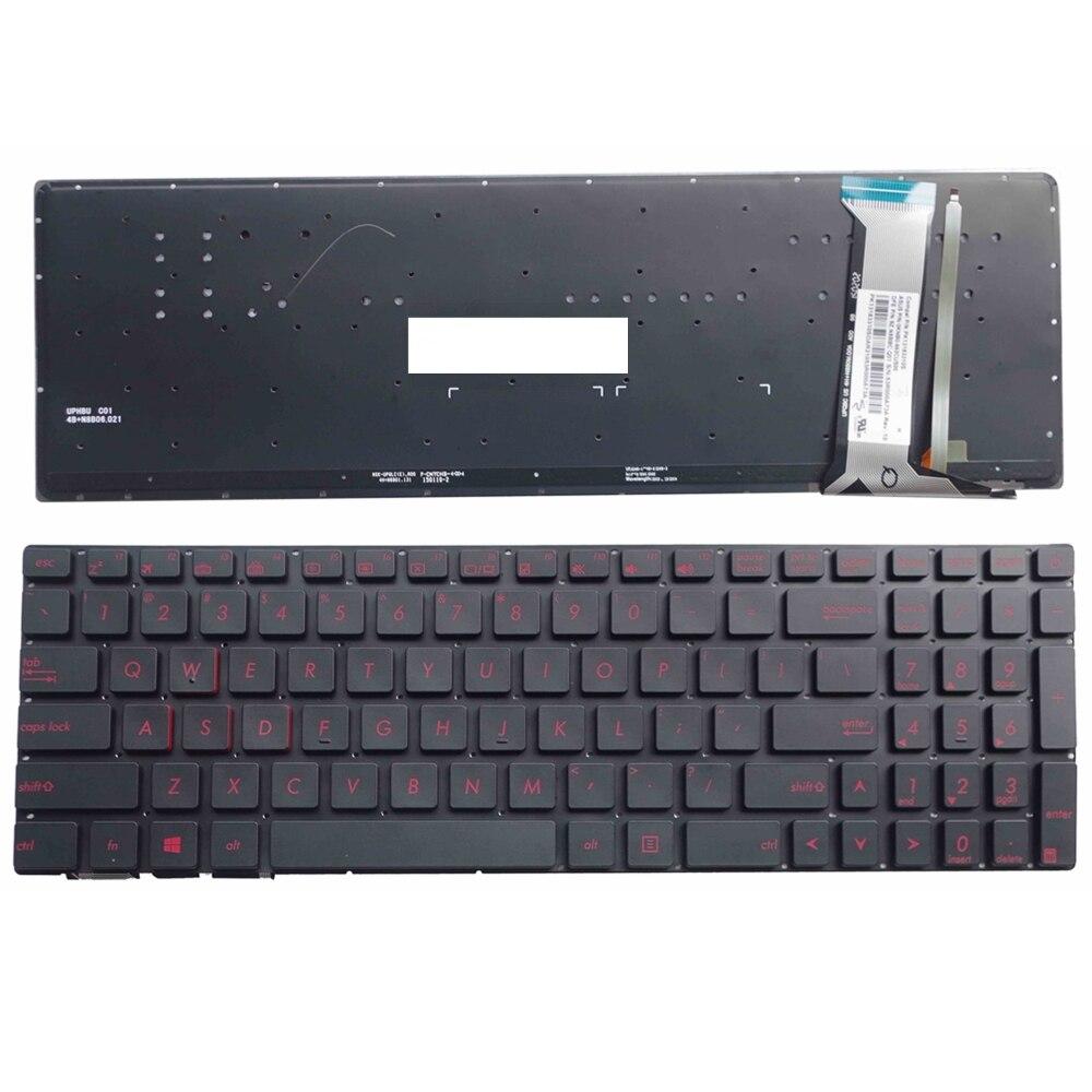 Asus G552V G552VW G552VX Palmrest Top Case Cover /& Backlit Keyboard US