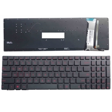 Nuova Tastiera PER ASUS GL552 GL552J GL552JX GL552V GL552VL GL552VW N552VW N552VX G771JM G771JW US tastiera del computer portatile retroilluminato