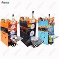 WY802F ручная машина для запечатывания стаканов пластиковая или бумажная чашка для бабл-ти герметик 220 V 110 V