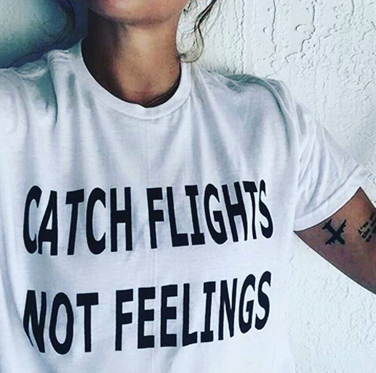 CATCH FLIGHTS NOT FEELINGS Letter Print T-shirts Women White Fashion  Short Sleeve Casual Female Tops Tees Harajuku Ropa Mujer