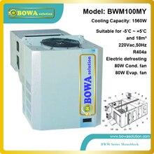 1560W monoblock refrigeration unit suitable for 10m3 beverage cooler or bottle cooler room