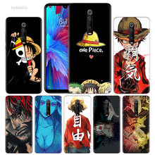 One Piece Free D Luffy Case for Xiaomi Redmi Note 7 7S K20 Y3 GO S2 6 6A 7A 5 Pro MI Play A1 A2 8 Lite Poco F1 TPU Phone Bags(China)
