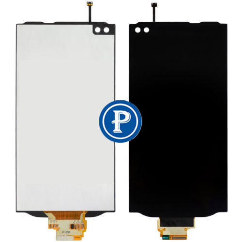 For LG V10 H901 VS990 LCD Screen with Digitizer Touch and Bezel Frame Complete -Space Black OEM