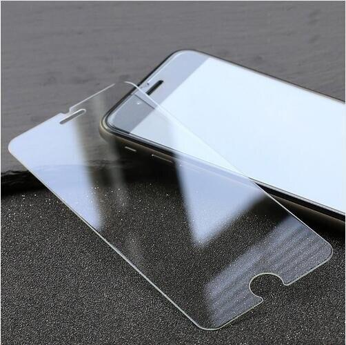 imágenes para 500 unids/lote claro alta templado 0.3mm protector de pantalla de cristal templado de cine para el iphone 5s 6 6 s plus 7 7 plus