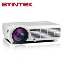Nueva BT96 Barato de Cine En Casa 5500 lúmenes 1280×800 HDMI Video de la Película de Cine LCD 1080 P Full HD LED proyector beamer proyector