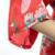 Floral Red Sexy mulheres de cetim de seda camisola dama de honra do casamento impressão Sleepwear Robe Kimono vestido Plus Size sml XL XXL XXXL BR033