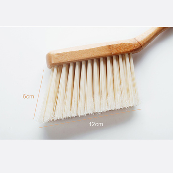 Vanzlife bamboo handle mini brooms shovel set household plastic cleaning brush small broom dust shovel 4