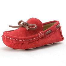 cbc514d9b8c46 Enfants Filles Chaussures Enfant Garçons Mocassins Bateau Chaussures  Printemps Automne glissement sur Les Enfants Pois Appartements