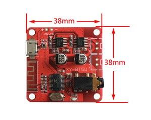 Image 3 - DC 3.7 5 V Bluetooth 4.2 אודיו מקלט 5 w + 5 w סטריאו מגבר כוח לוח קטן סטריאו amp