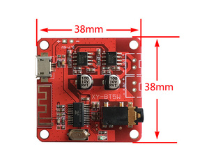 Image 3 - DC 3.7 5V Bluetooth 4.2 Audio Receiver 5w+5w Stereo Power Amplifier Board small stereo amp