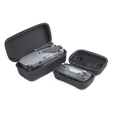 DJI Mavic Pro EVA Portable Hardshell Transmitter Controller Storage Box + Drone Body Housing Bag Protective Case for DJI
