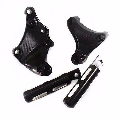 Passenger Rear Foot Pegs Footpeg Mount Kit for 2014 Harley Sportster XL 883 1200