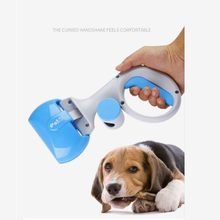 Portable Shit Pickup Remover Pooper Bags 1 Set Pet Products 1 Pet Pooper Scooper Outdoor Waste Cleaning Poop Pick Up Recoger(China)