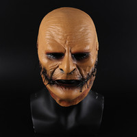 New Slipknot Mask Corey Taylor Cosplay Latex Mask TV Slipknot Stitched Mouth Mask Halloween Cosplay Costume Props