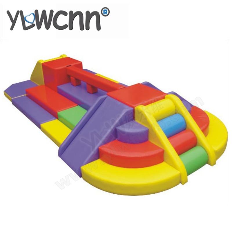 Équipement de jeu doux, jouets d'équipement d'amusement d'enfants, terrain de jeu mou d'enfants