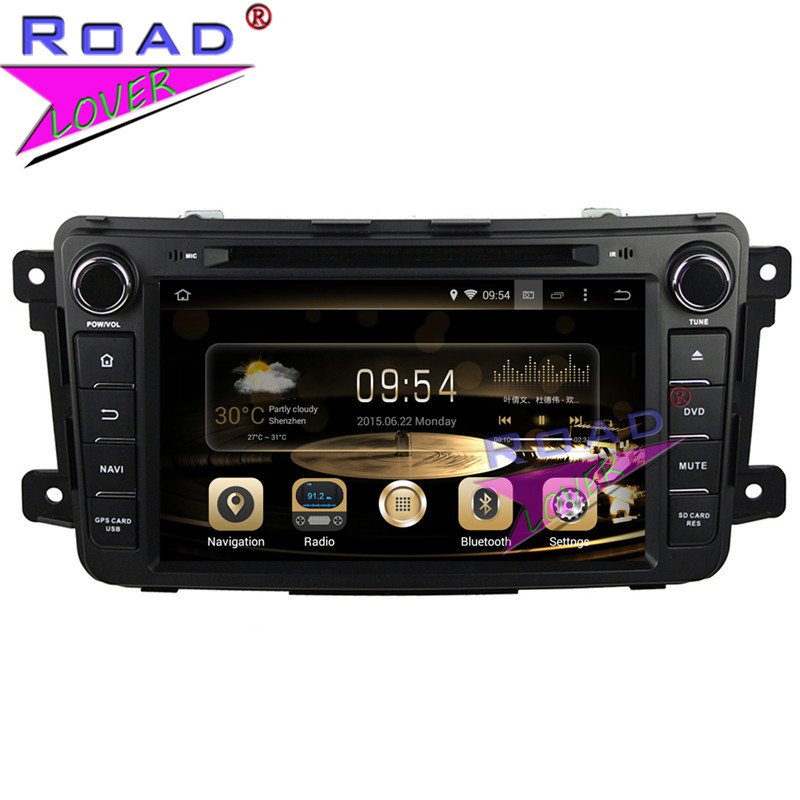 TOPNAVI Octa Core 4G+32GB Android 6.0 Car Media Center DVD Player Auto Video For Mazda CX-9 2007- Stereo GPS Navigation Two Din
