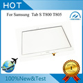 Original White Touch Glass Panel For Samsung Galaxy Tab S 10.5 T800 T805 Touch Screen Digitizer  With Tracking