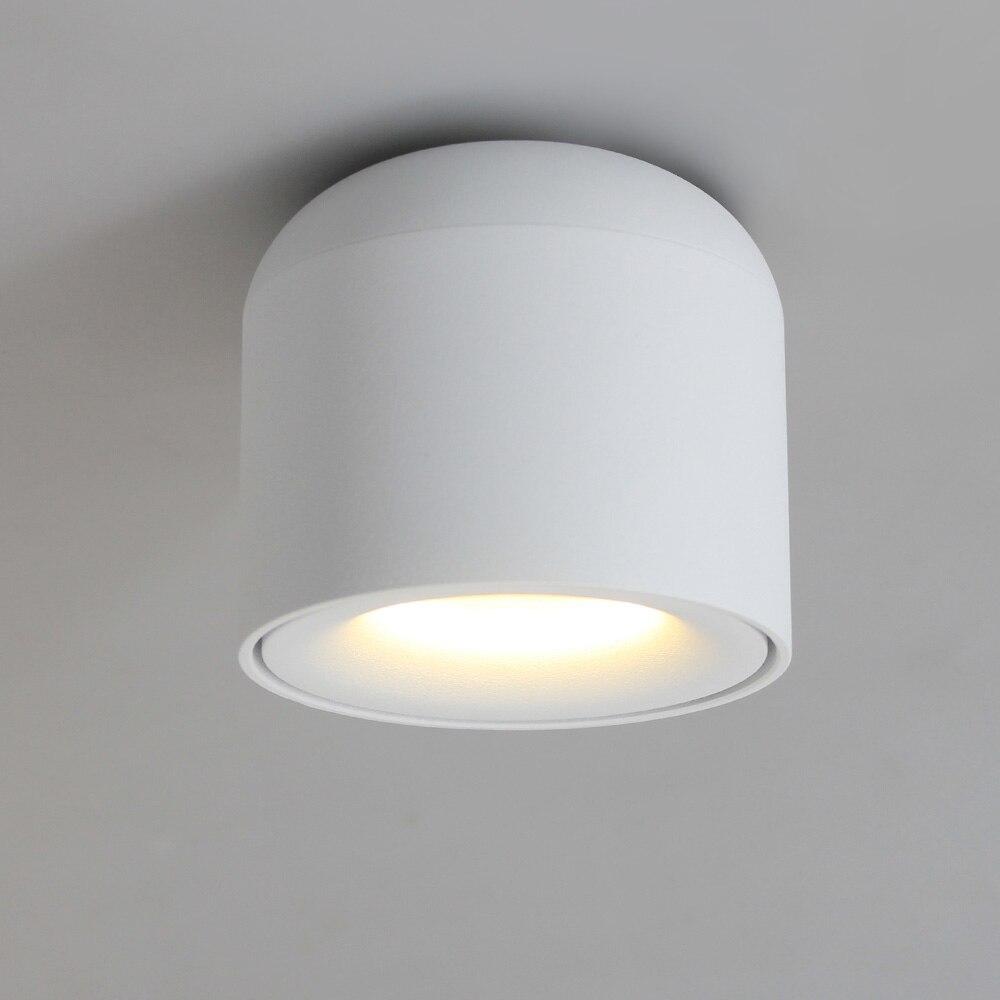 ISL Surface Monté LED Downlight COB Spot light pour salon, Chambre, Cuisine, Salle De Bains, Couloir, balcon AC 90 v-260 v