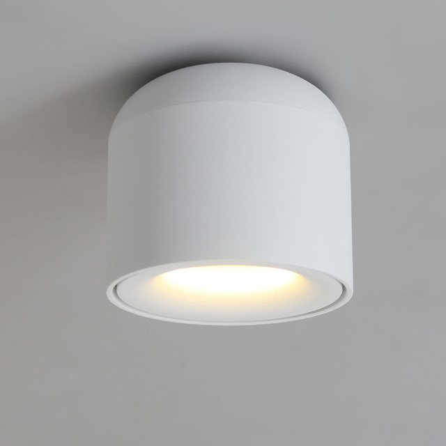 Isl Surface Mounted Led Downlight Cob Spot Light For Living Room Bedroom Kitchen
