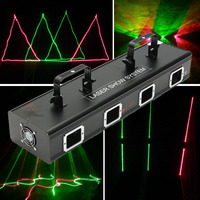 Mising Professional 30W Laser Light Show System 110V Stage Lighting Effect RGB Light Lamp For DJ Stage KTV Club Bar Party Pub