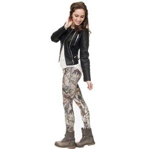 Image 4 - Di modo leggins mujer Con Modello Multicolore 3D Stampa legging di fitness feminina leggins Donna Pantaloni workout leggings