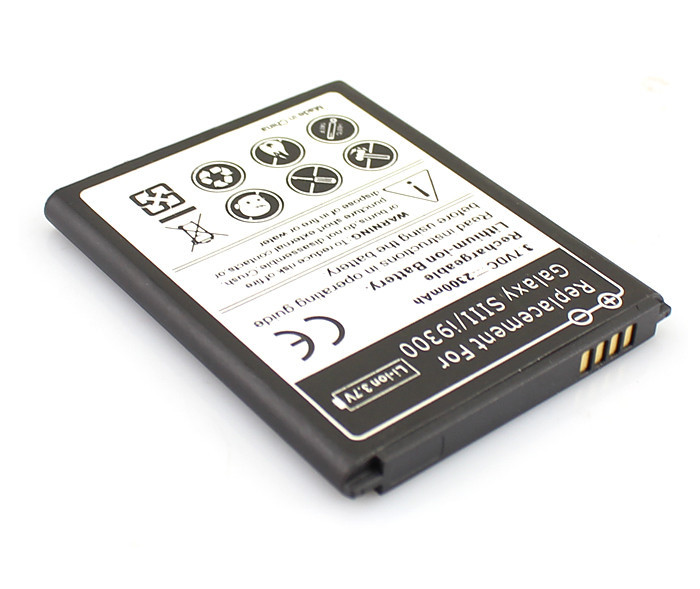 <font><b>Battery</b></font> For Samsung Galaxy S3 S 3 <font><b>i9300</b></font> L710 i747 i535 R530 2300mAh Moblie Cell Phone Rechargeable Lithium-ion <font><b>battery</b></font>