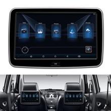 Android 6.0 Jogador Encosto de cabeça Do Assento de Carro de Volta Sistema de Entretenimento digital Tela Sensível Ao Toque de 10.1 Polegada 1 pcs