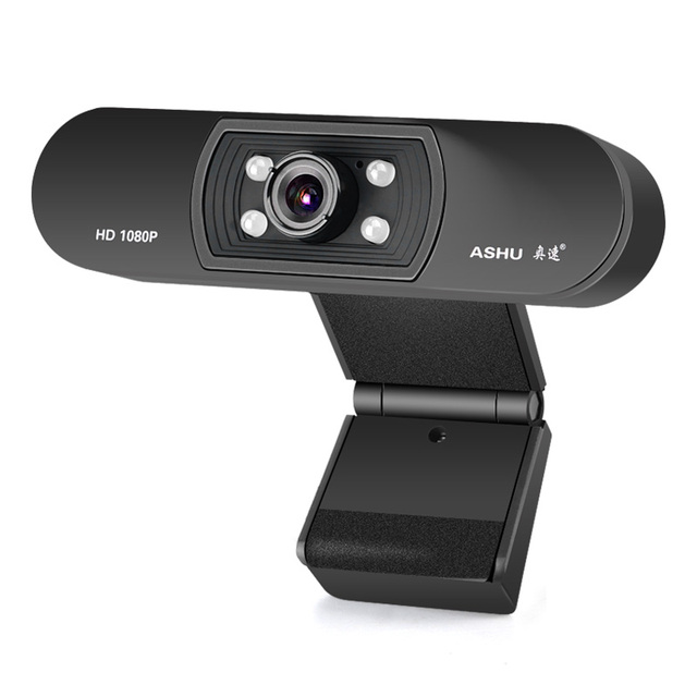 Webcam 1080P,  HDWeb Camera with Built-in HD Microphone 1920 x 1080p USB Plug n Play Web Cam, Widescreen Video