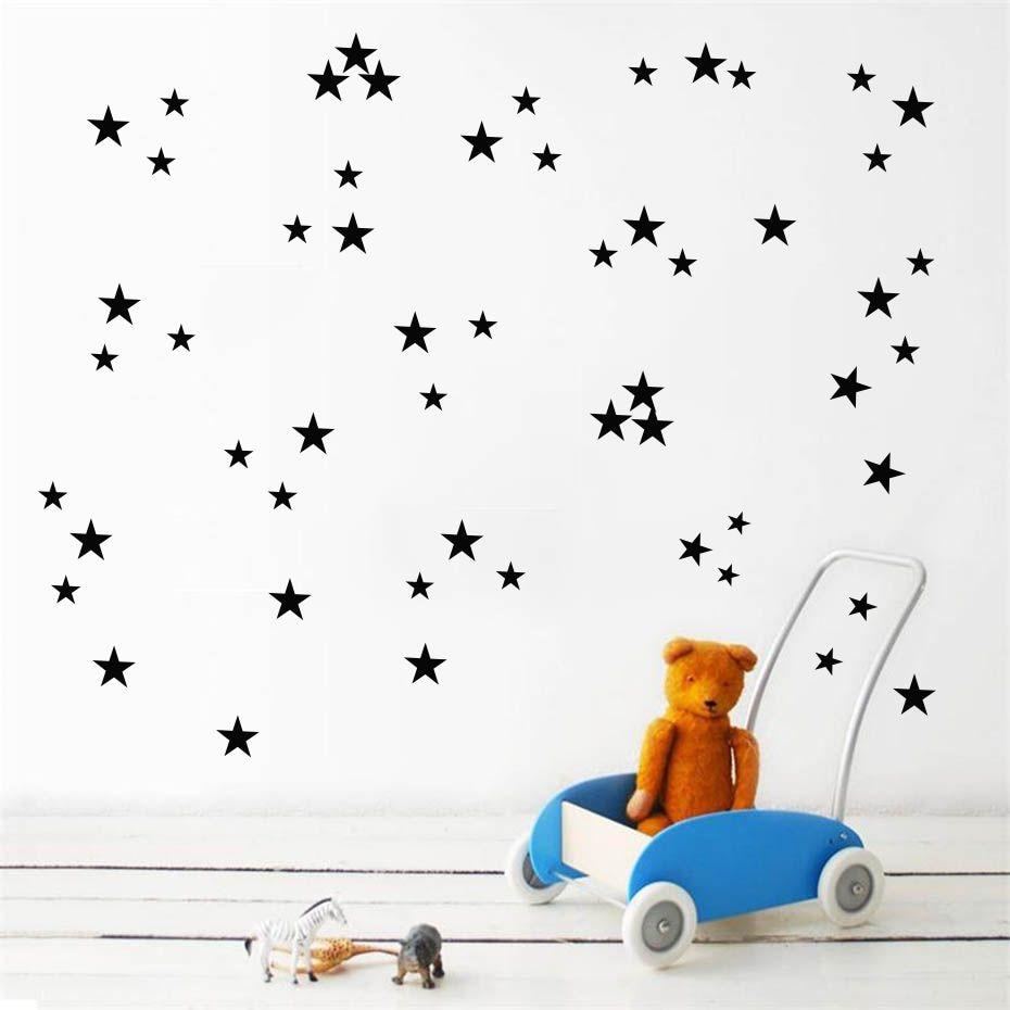 Decoration  Vinyl Home Art Rooms Wall Stars Stickers Pentagon