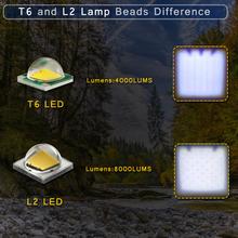 Rower światło 8000 lumenów 5 tryby L2 T6 LED rowerowe przednie światło Lampa rowerowa latarka wodoodporna ZOOM latarka przez 18650 tanie tanio Baterii Certyfikacja CE RoHS CCC Kierownicy Z TRLIFE Stop aluminium 1 x 18650 w 3 x AAA 200-500M T6 L2 4000 lumenów