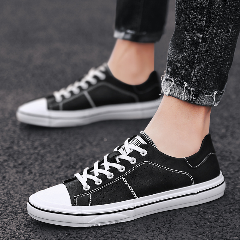 Classic Men's Shoes cow   suede     leather   Shoes Men Casual Shoes Fashion Sneakers Street Cool Man Footwear Outdoor brand shoes L5