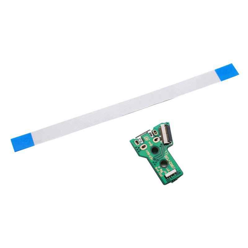 Для SONY PS4 контроллер usb зарядный порт розетка плата JDS 055 5TH V5 12 pin кабель