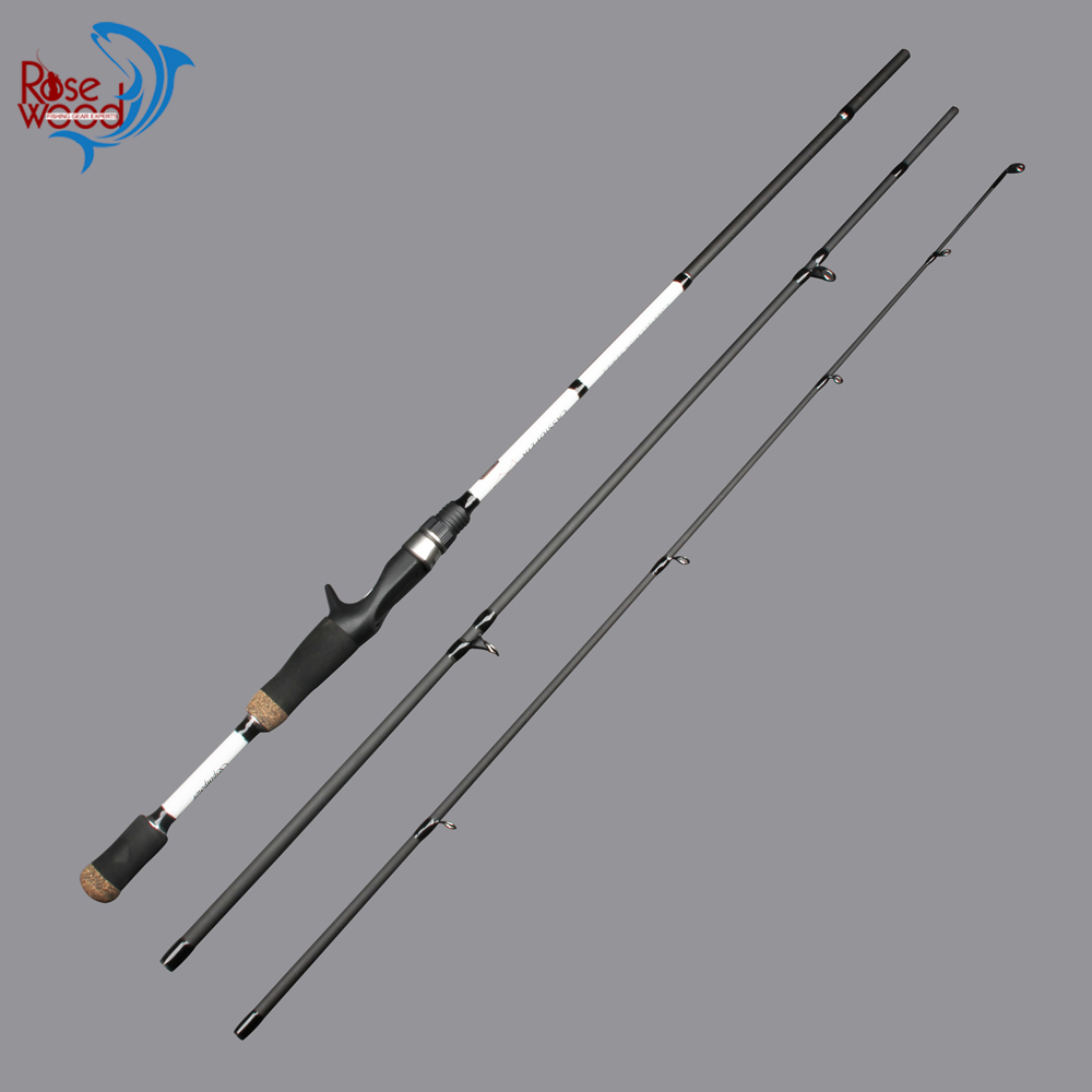 Cheap fishing rod 3 sections carbon best casting for Discount fishing rods