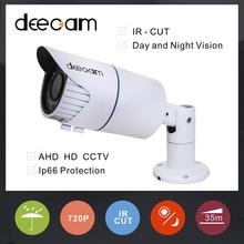 Deecam AHD CCTV Camera 1.0M High Illumination waterproof  IR Distance 2.8~12mm varifocal lens Night Vision surveillance camera