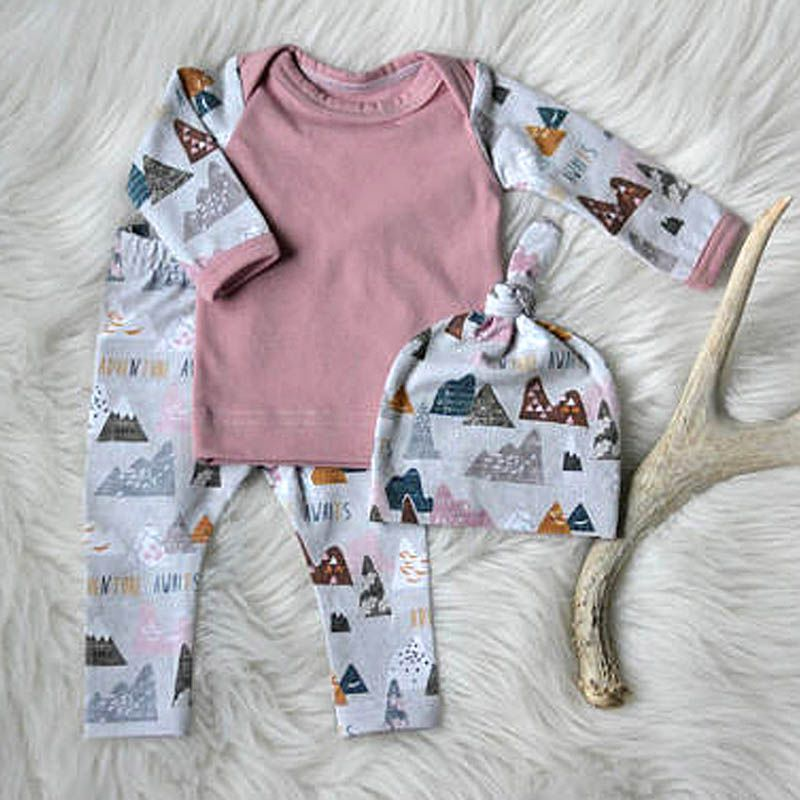 3PCS-Kids-Boys-Girls-Clothing-SweatshirtBottoms-PantsHat-Clothes-Set-Spring-Summer-Newborn-Baby-Cloth-Sets-5