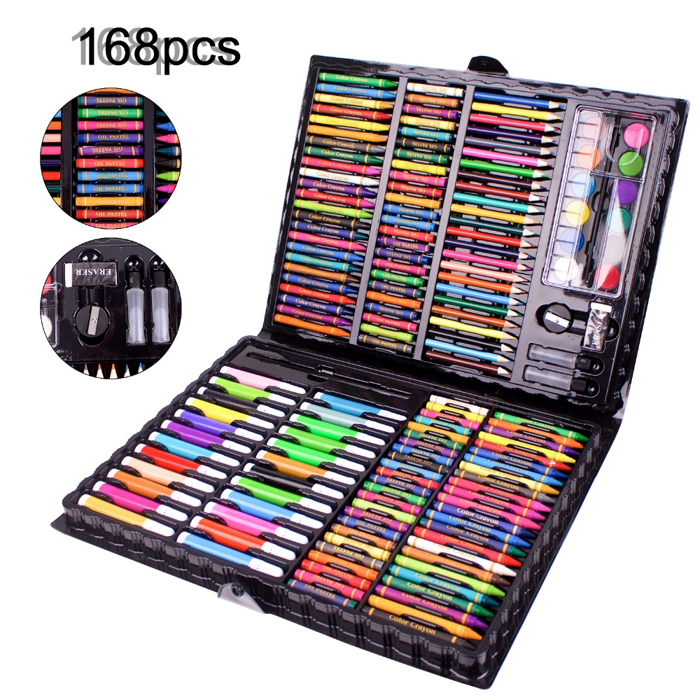 Watercolor Pen Set Color Paint Pen For Powder Paint Watercolor Paint Multi-Color Art Drawing Pencil Non-Toxic Acid-Free Kid Gift