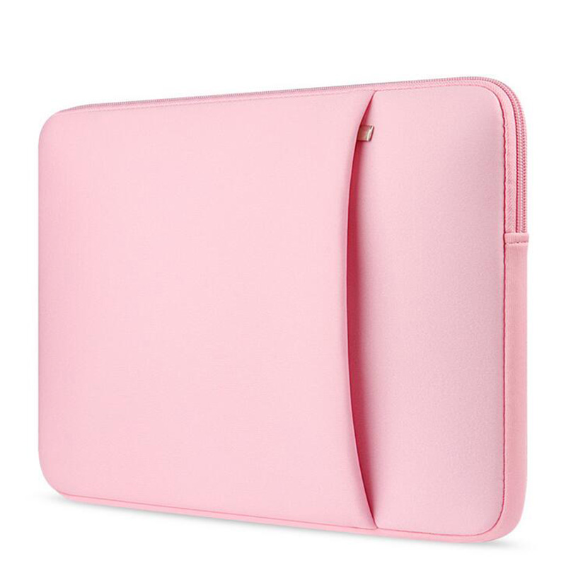 """New Soft Sleeve Ordinateur Portable Sacs Cas Pour Macbook 12 \""""Air/Pro 11.6\"""" 13.3 \""""14\"""" 15.4 \""""fermeture éclair Sacs Pour Mac Book Carry Couverture de Poche Portable"""