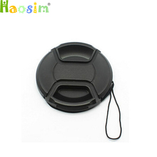 10pcs/lot 37 39 40.5 43 46 49 52 55 58 62 67 72 77 82 86 mm center pinch Snap on cap cover for canon nikon