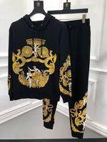 Новинка 2018 Высокое качество модные Для мужчин наборы для подиума летние человек Роскошные брендовые Мужская одежда A09530