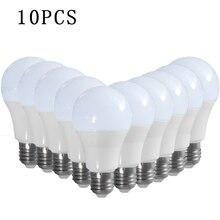 10 шт./лот E27/B22 светодиодные лампы AC 100 V-240 V Светодиодные лампы Главная постоянного тока постоянное напряжение интерьерная лампа SMD2835, теплый белый свет/холодный белый свет