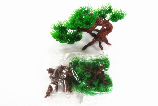 nuonuowell 10x artificial pine tree aquarium decorations diy restaurant landscaping christmas decor bonsai mini tree plant green