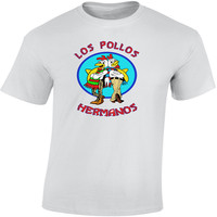 Hot Sale Fashion Men S T Shirts Breaking Bad Los Pollos Hermanos Cool Walter White Heisenberg