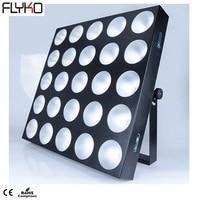 Free shipping LED 25 X 30w RGB 3in1 led 25 head matrix light