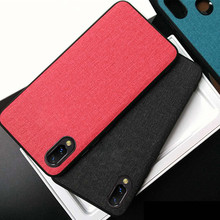For VIVO X23 Case Cover Fashion TPU + PC Shockproof  Capa for x23 x 23 Phone Funda Coque Fabric Classic