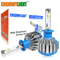 60W H1 Led Car Headlight W CREE Chips 6000LM Conversion Kit Driving Lamp Bulb Car External