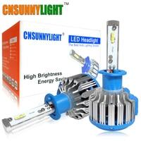 CNSUNNYLIGHT H1 880 Led Car Headlight 70W 7000LM/set Conversion Kit Driving Lamp Bulb Automotive External Main Fog Head Lights