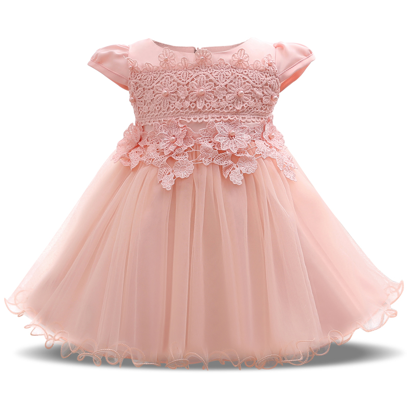 Aliexpress.com : Buy Newborn Baby Girl Party Dress Flower ...