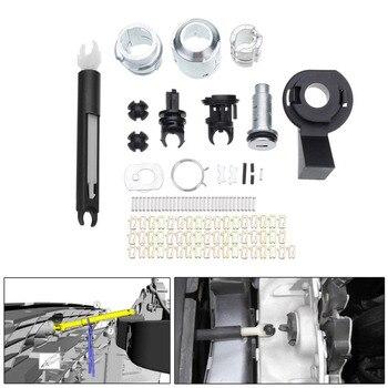 Bonnet Release Lock Repair Kit Latch Catch For Ford For Focus MK2 2004-2012 1355231 Door Lock Repairing Tool Kits Set
