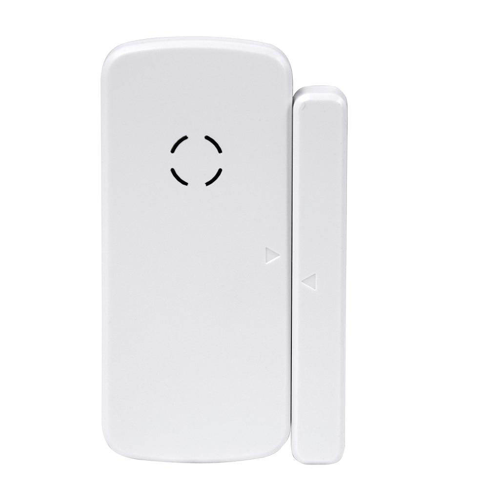 2018 New Original 433MHz Wireless Window Door Magnet Sensor Detector For Home Wireless Alarm System wireless door window vibration breakage detector shock sensor for home alarm system 433mhz